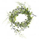 Guirlande de feuilles Mini, longueur 200 cm, vert,